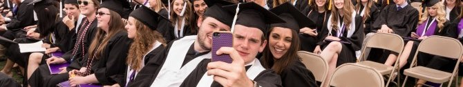 BANNER Commencement Spring 2015 Selfie