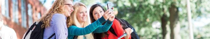 BANNER Selfie-students. 670x126