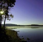 Lake at Thousand Hills State Park