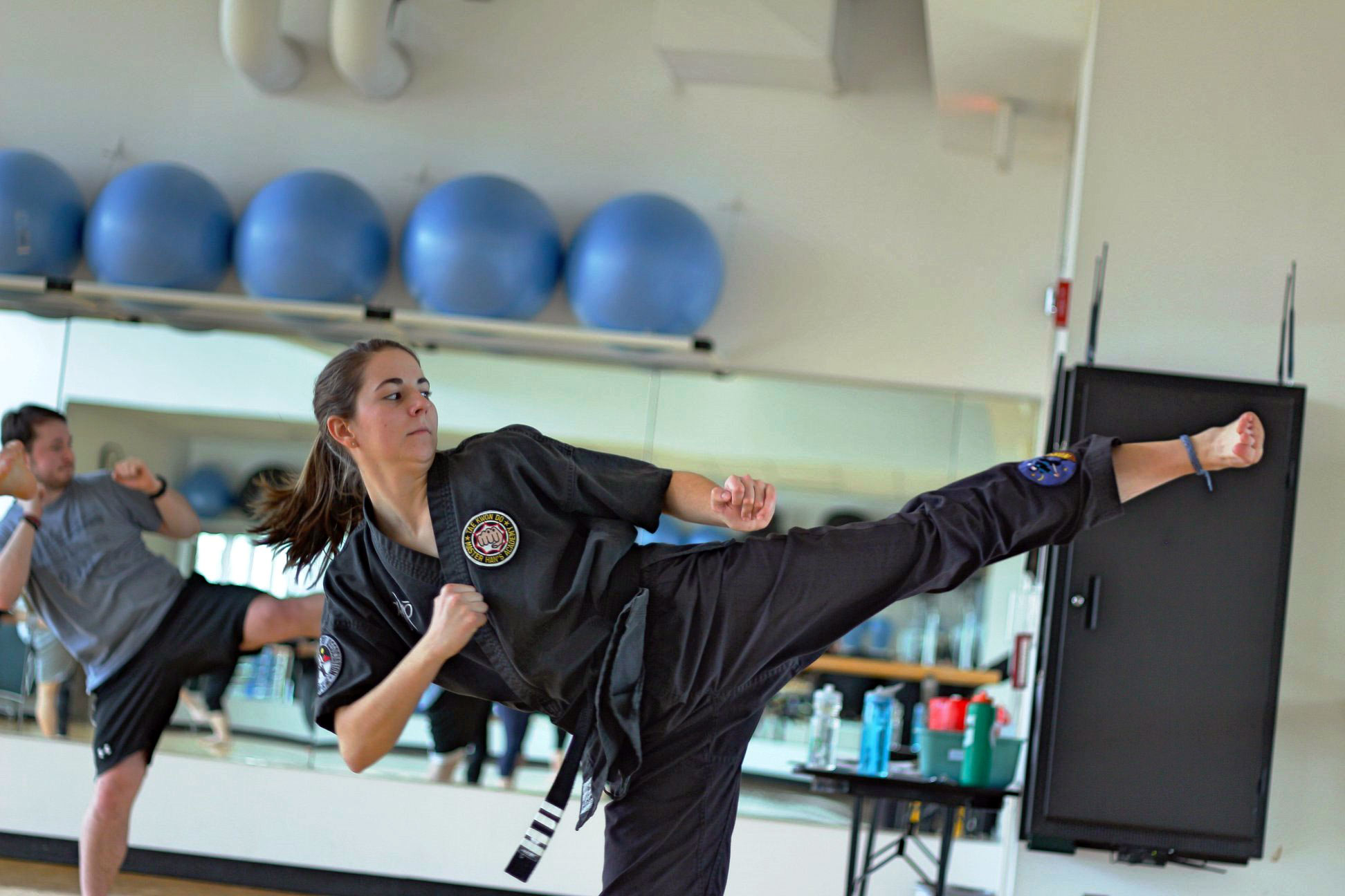 Martial Arts Class at Student Recreation Center