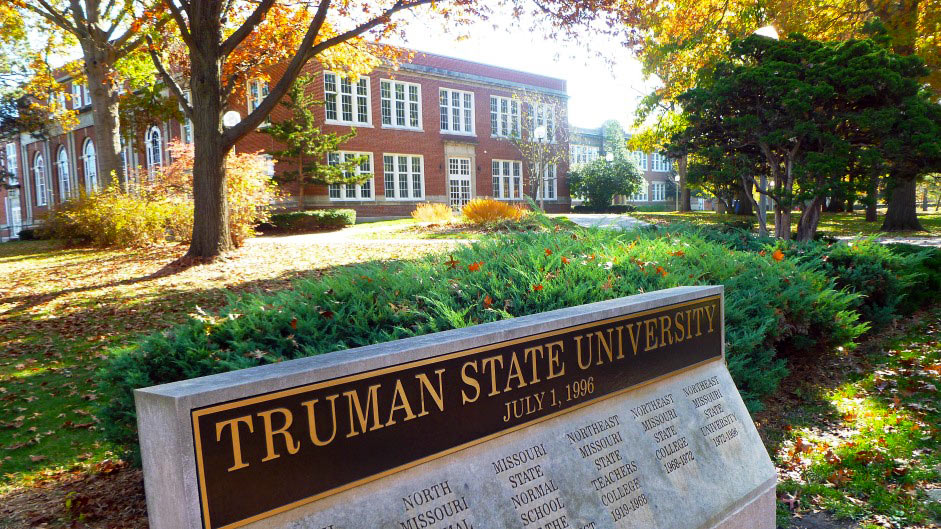Fall colors on Truman campus