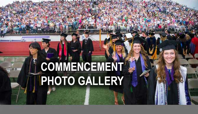 Congratulations to all of our spring graduates! View snapshots of memorable moments at Commencement