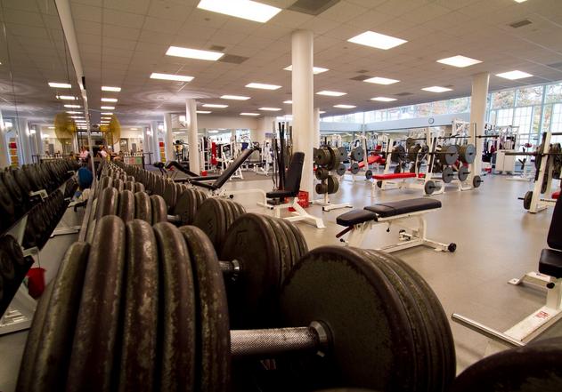 Student Rec Center Weights