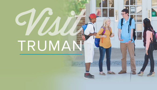Curious about our campus? RSVP for one of our Saturday Showcase visit events to experience Truman
