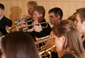 Trumpet ensemble performance