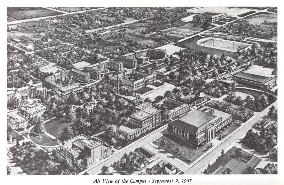 1967: View of campus