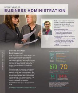 Quick Facts Brochure - Business Administration