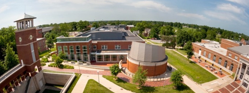 Photo of Campus from rooftop