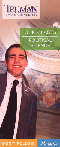 Poliltical Science Quick Facts Brochure Cover