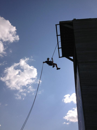 ROTC Rappeling Tower