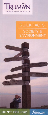 Society and Environment Quick Facts Brochure