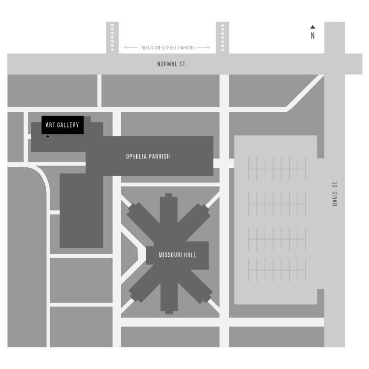 Art Gallery Parking Map