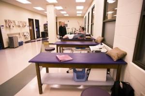 Health Sciences Athletic Training Room
