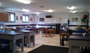 kennels athletic training room
