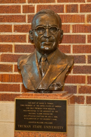 Bust of Harry Truman