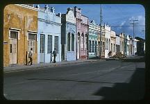 A residential Street scene, Recife, Pernambuco.