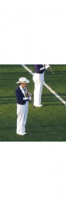 Clarinetist Emily Mehigh Marching with the Truman Statesmen