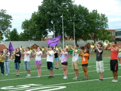 Marching Mellophones!