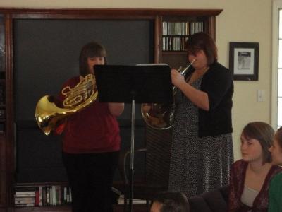 Horn Duet Performance