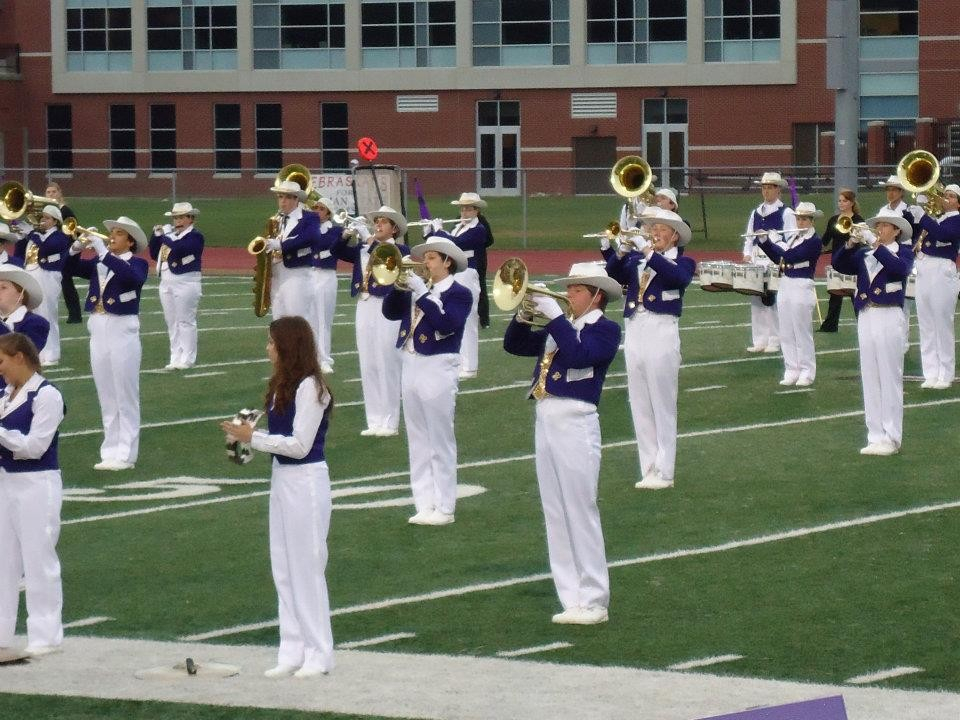 Performance by the Truman Statesman Marching Band