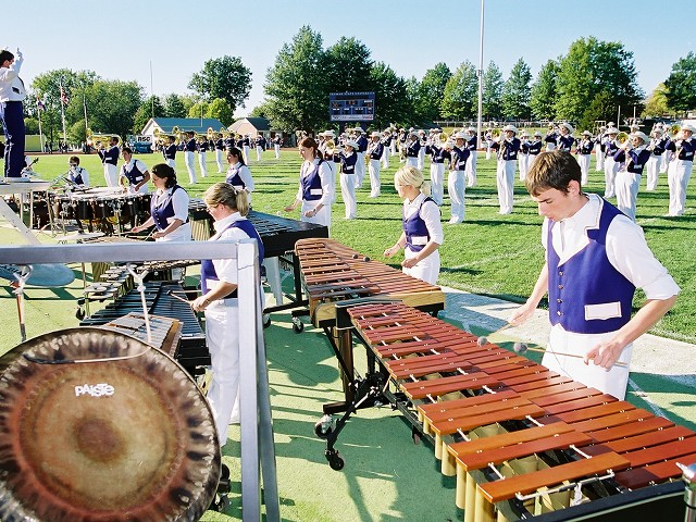 Image of percussion players