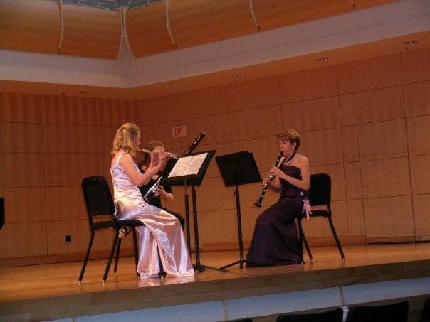 Senior Alison Dahl's clarinet recital