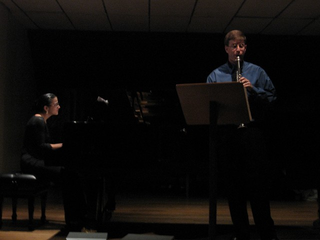 Dr. Krebs performing a recital in Costa Rica