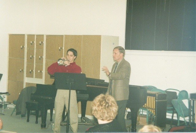 Phil Smith, principal trumpet of NY Philharmonic at Truman