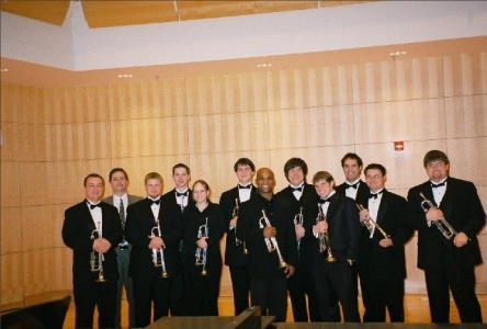 Tage Larsen of Chicago Symphony with Truman Trumpet Ensemble
