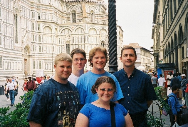 Trumpet students in Florence