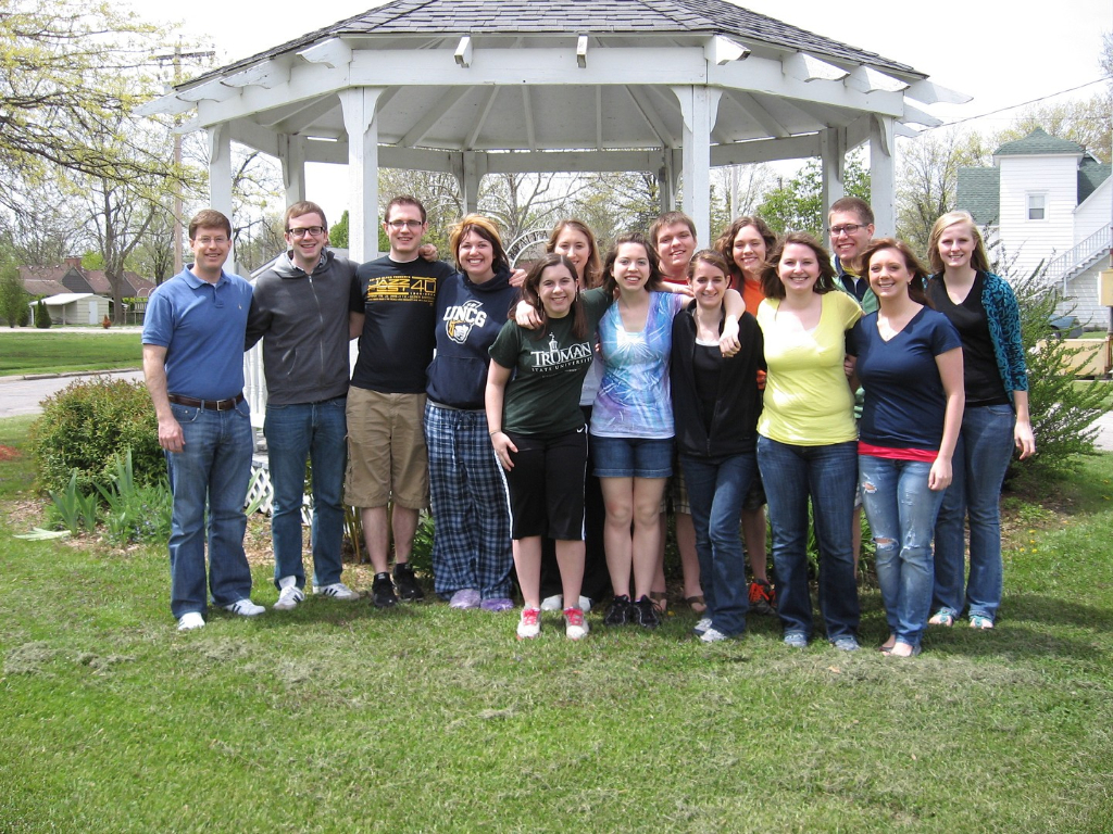 Truman Clarinet Studio Pizza Party (2011)