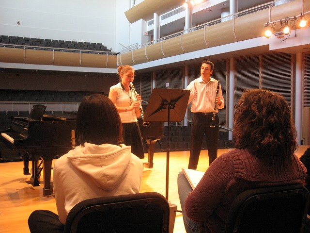 Master Class with Guest Clarinetist Dr. Espina Ruiz