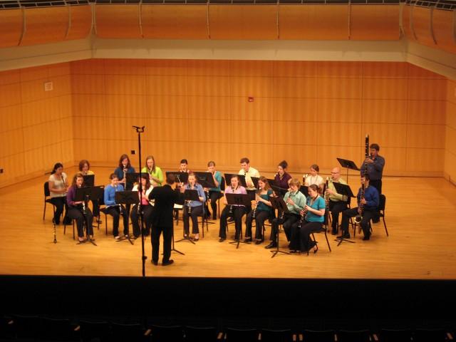 Truman Clarinet Choir performance (2009)