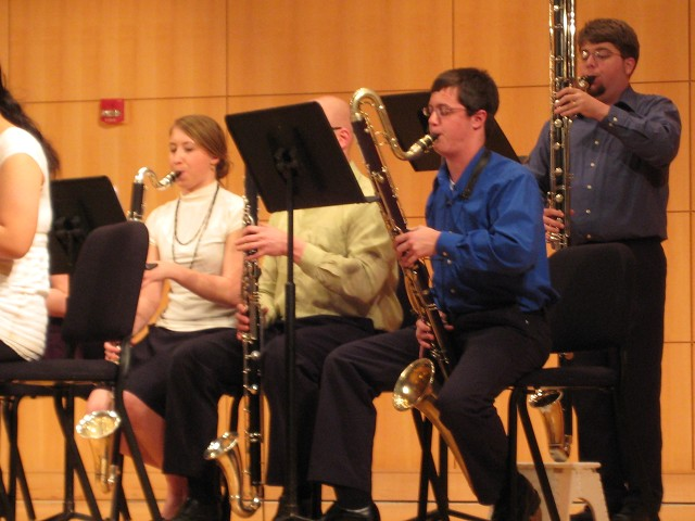 Truman Clarinet Choir performance (2009)