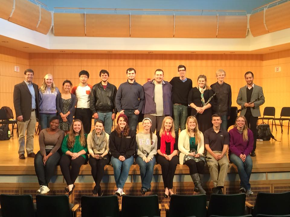 Guest Master Class with Principal Clarinetist of the Minnesota Orchestra