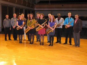 Saxophone Studio Fall 2012 Recital