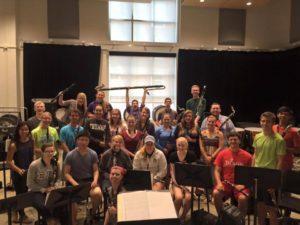 Truman Clarinet Choir 2015-2016