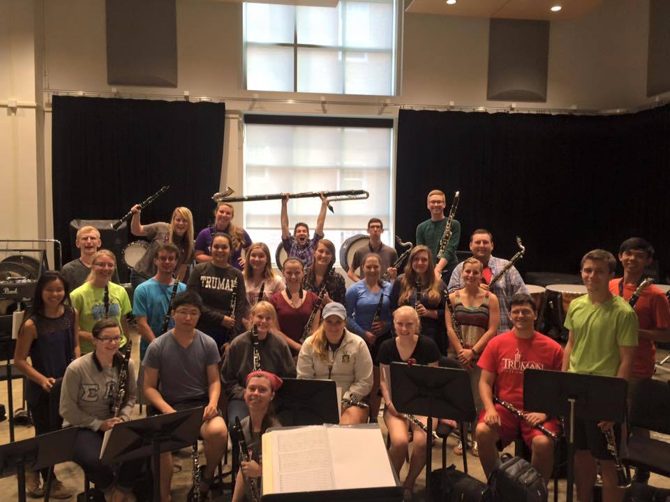 Truman Clarinet Choir 2015-2016