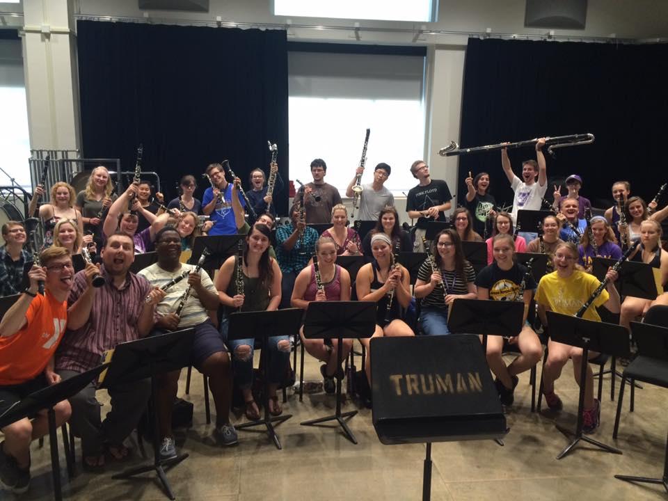 Image of Truman Clarinet Choir