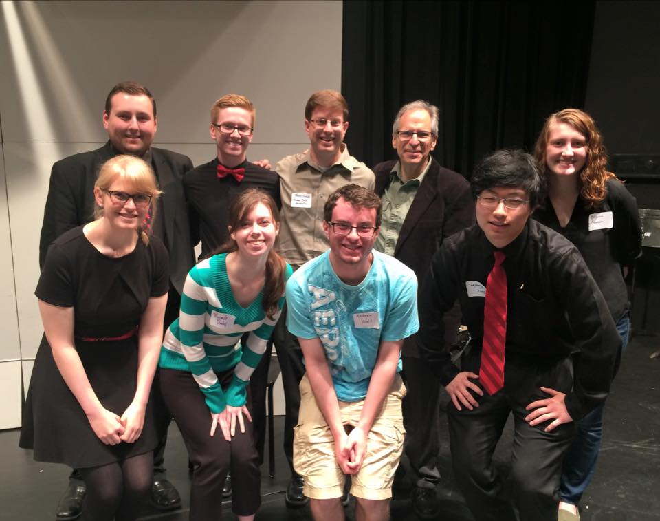 Truman clarinetists with Dr. Frank Kowalsky at Midwest ClariFest (2015)