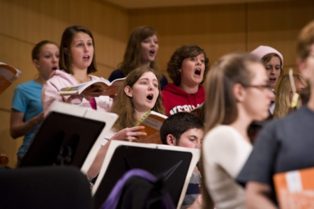 Image of Choral Students