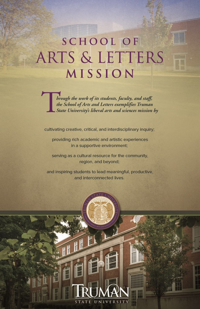 Mission for School of Arts and Letters