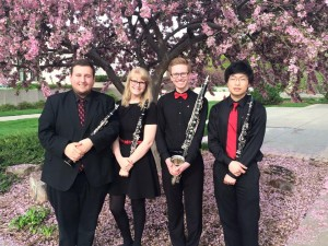 Truman Clarinet Quartet at Midwest ClariFest (2015)