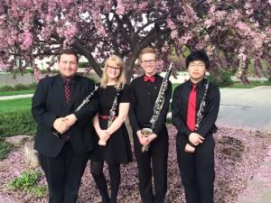 Truman Clarinet Quartet at Midwest ClariFest (2015)