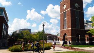 Clock Tower on Truman campus