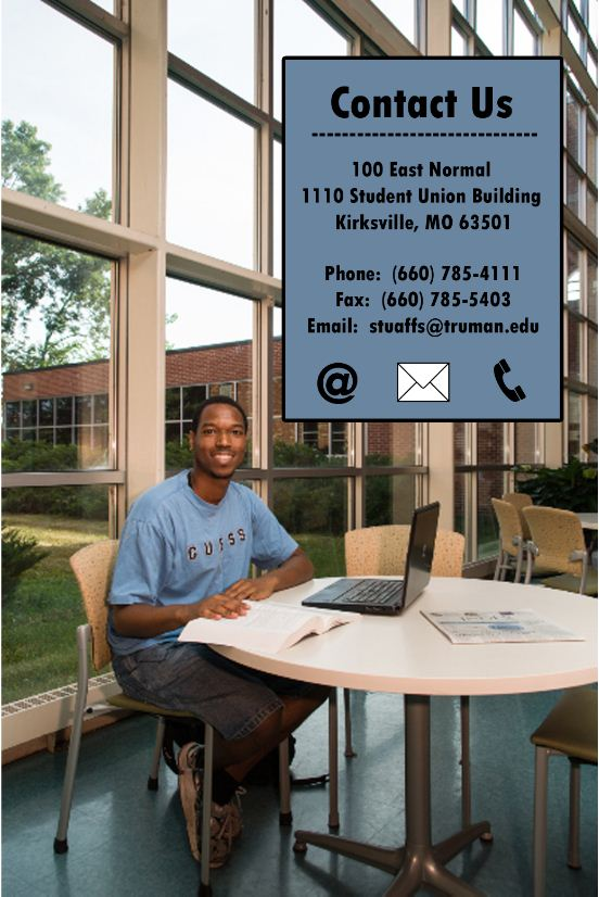 Contact Student Affairs