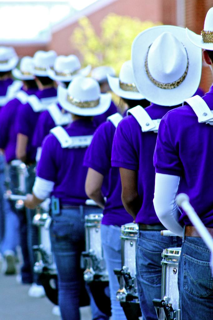 The Statesmen drumline
