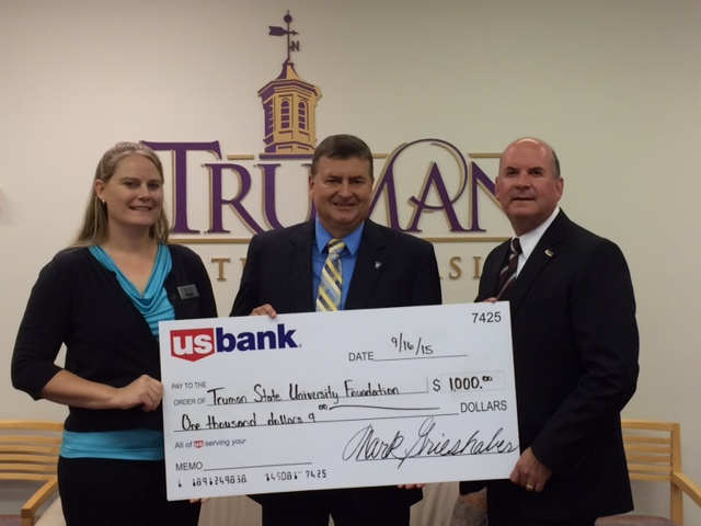 US Bank Makes Gift to Truman State University