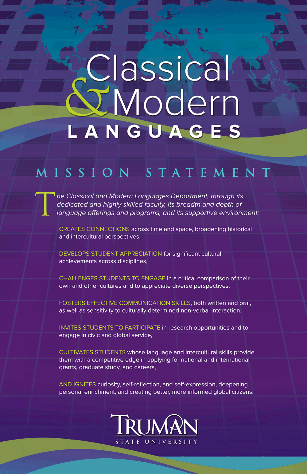 Classical & Modern Languages Mission Statement