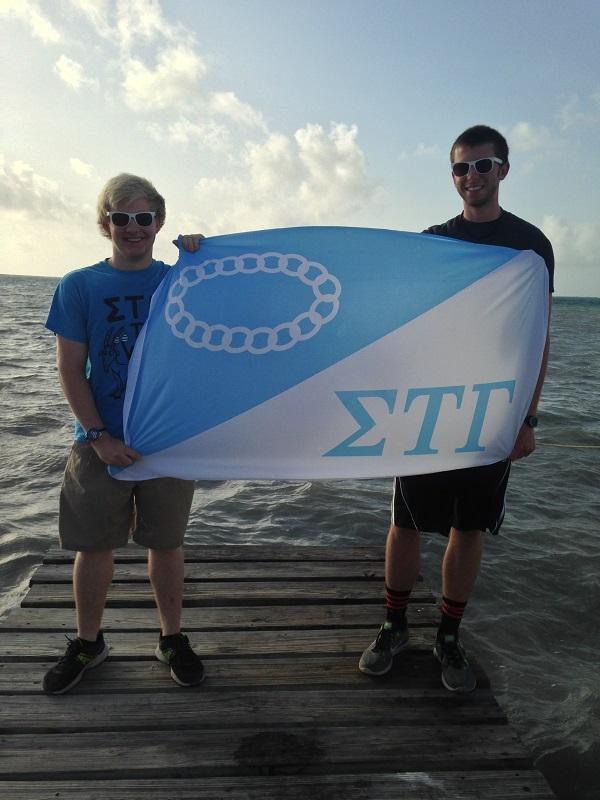 600 Patrick Moranville & Matt Bryant in Belize